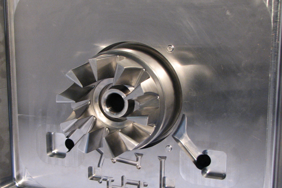 Die cast die turbine