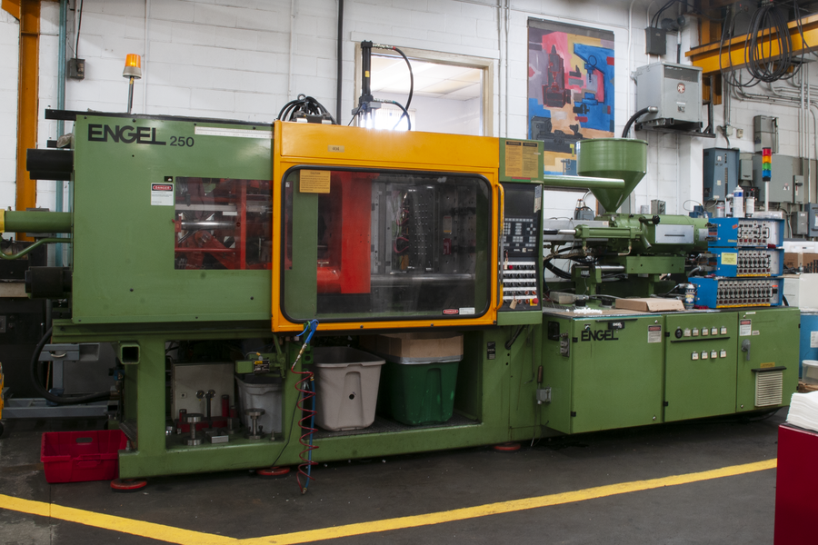 ENGEL250 2-shot molding machine