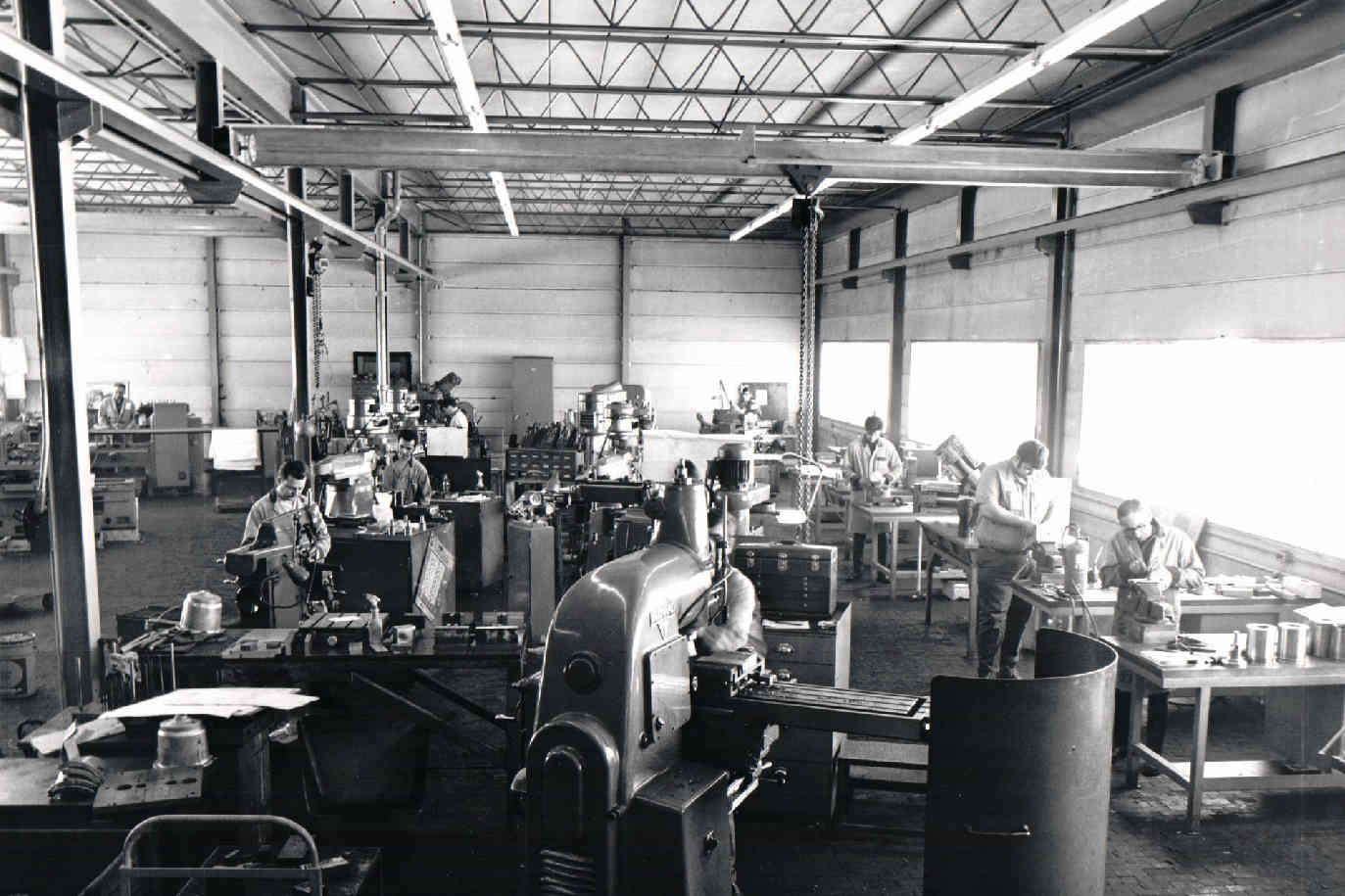 K & K Tools shop in its early days